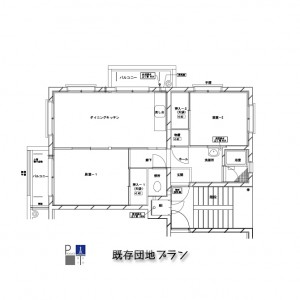 WPベース470角団地リノベ002