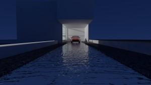 水盤ガレージハウス003