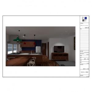 UR室内パース001